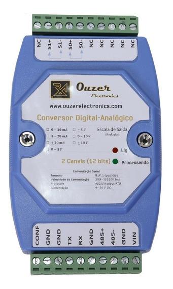 Conversor Digital-analógico Saída Analógica Rs232 Rs485