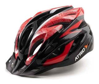 Capacete Atrio Para Ciclismo Mtb Inmold 2.0 Viseira Removíve