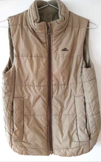 Campera Chaleco Montagne Mujer Impermeabl Color Arena Xs