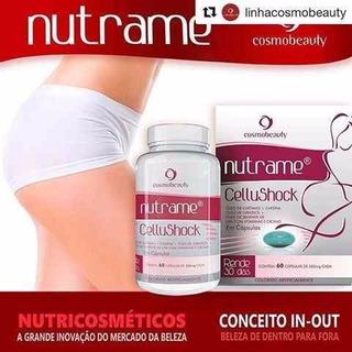 Nutrame Cellu Shock 60 Caps Anticelulite Cosmobeauty