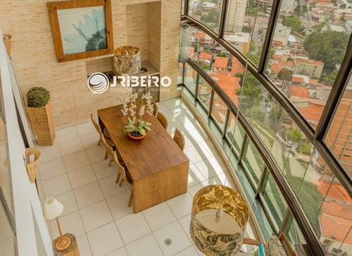 Apartamento Cobertura Duplex Para Venda 5 Suítes, 6 Vagas, Espaço Gourmet  Em Perdizes São Paulo-sp - 901077