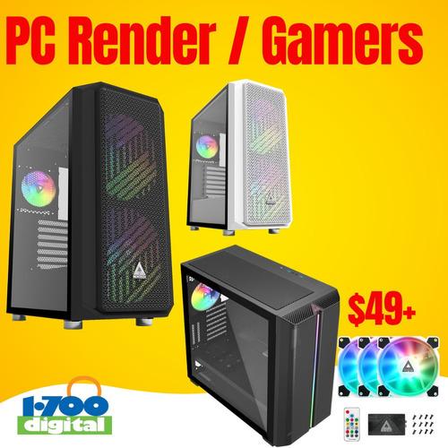 Pc Gamer Core I5 10400 32gb Rx560 4g Ssd Hd Ryzen Computador
