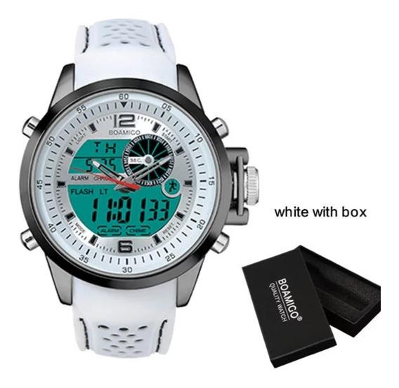 Relógio Masculino Boamigo Digital Analógico Original Barato