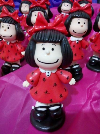 Mafaldaa Souvenirs En Porcelana Fria X10