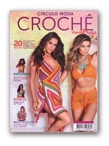 Revista Circulo Croche Especial Moda Praia N°08