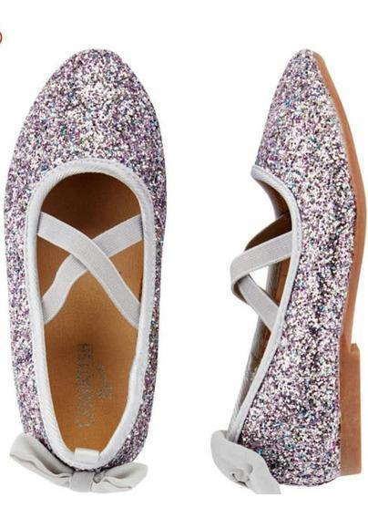 Zapatos Glittler Carters Nena Talle 24 Envio Gratis