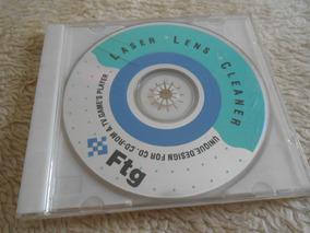 Disco Digital-limpador De Lentes P/leitor - Dvd/vcd/cd/games