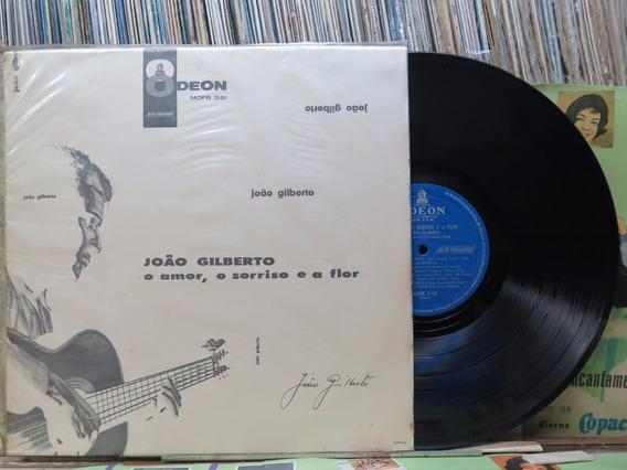 João Gilberto O Amor Sorriso E Flor Lp Odeon Mono Original