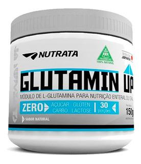 Glutamina Up 150g - Nutrata