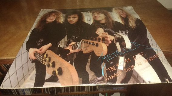Metallica The $5.98 E.p. - Garage Days Lp Original Us 1987