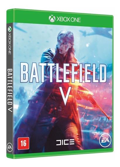 Battlefield V Bf5 Xbox One Português Midia Fisica Novo Lacra