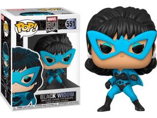 Black Widow Marvel 80 Years Funko Pop