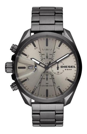 Relógio Diesel Masculino Cronógrafo Grafite-- Dz4484/1ci