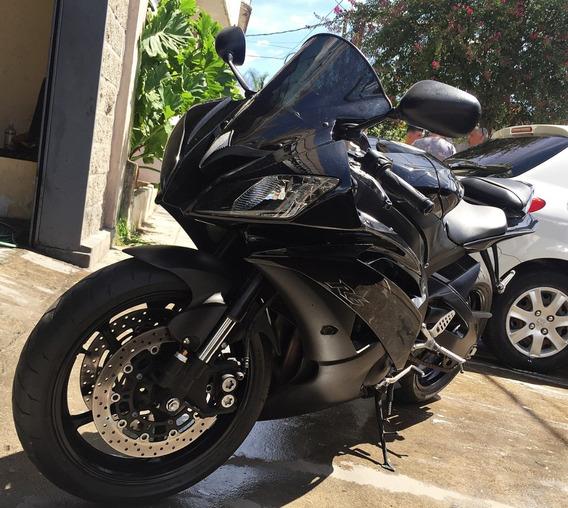 Yamaha R6 Black Edition C/ Accesorios!! El Mejor Color