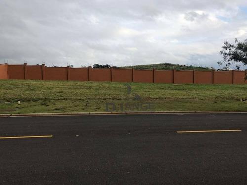 Imagem 1 de 21 de Terreno À Venda, 451 M² Por R$ 800.000,00 - Alphaville Dom Pedro - Campinas/sp - Te3846