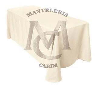 Mantel Rectangular 2 X 1.50 Tropical Mecanico Antimanchas!!!