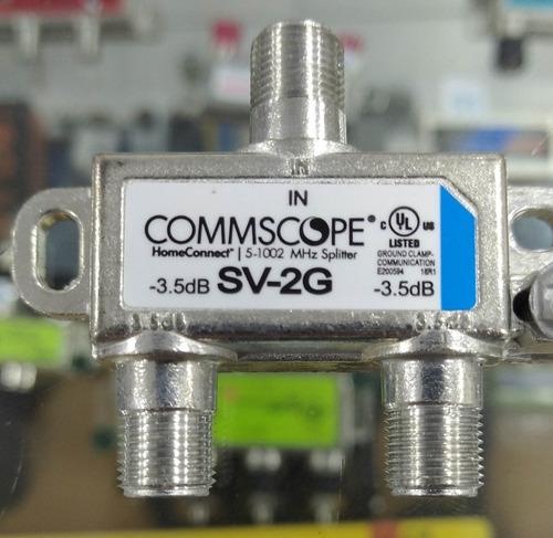 Splitter Ncm De 2 Vias, 1000mhz, Cable Coaxial Inter, Movist