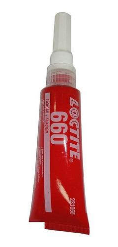 Adesivo Loctite 660 Trava Roscas Alto Torque Cinza 50g