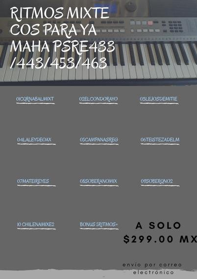 10 Ritmos Mixtecos Para Teclados Yamaha Psr E Y Psr S.