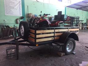 Remolque Plataforma Cama Baja, Capacidad: 500 Kg