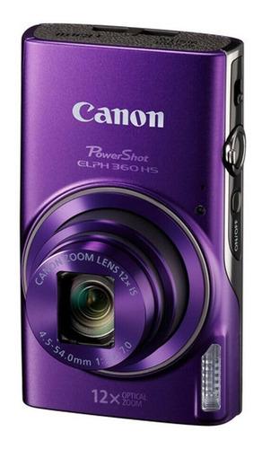 Canon Powershot Elph 360 Cámara Fotografica Wi-fi 20.2mp 12x