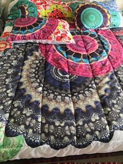 Cobertor Edredon Para Cama De 2.5 Plazas