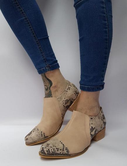 Zapato Bajo De Vestir Bajos Creepers Stampa Woman Hot Sale