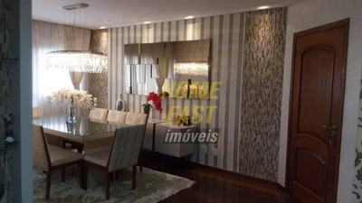 Apartamento Com 3 Dormitórios À Venda, 130 M² Por R$ 850.000 - Vila Galvão - Guarulhos/sp - Ap1407