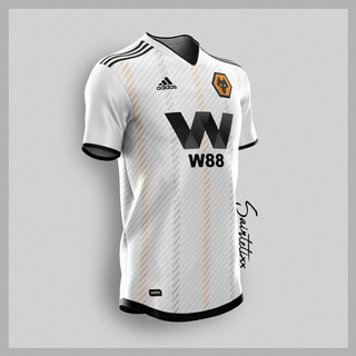Camisa Wolverhampton Saintetix Design Ii - Pronta Entrega
