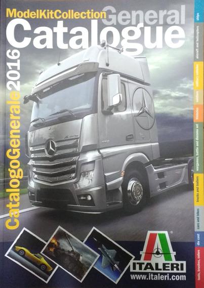 Catálogo Geral Italeri 2016 102 Pg Brinde Adesivo Exclusivo