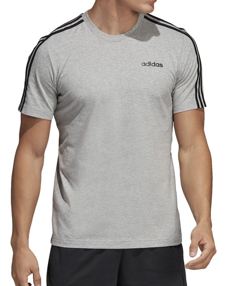 Remera adidas Training Essentials 3s Hombre Gr/ng