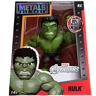 Diecast Metal Marvel Avengers Hulk M58 Jada Original Replay
