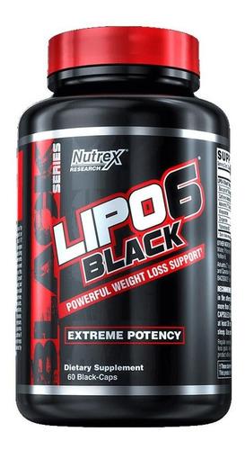 Imagen 1 de 2 de Lipo 6 Black Ultra Concentrado Quemador Grasa Envio Gratis