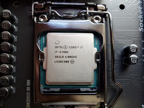 Intel Core I7 6700k + Placa-mãe Gigabyte Z170x-gaming 7