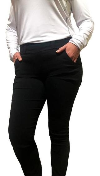 Calza Pantalon De Vestir Con Bolsillo Del Talle S Al Xxl