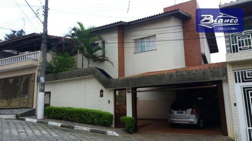 Sobrado Residencial À Venda, Jardim Gumercindo, Guarulhos. - So1218