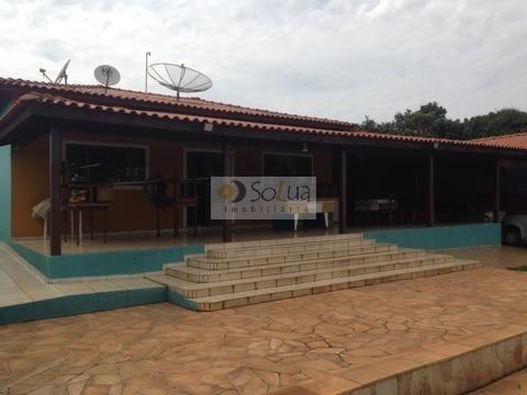 Imagem 1 de 28 de Chácara Residencial À Venda, Jardim Bela Vista Iii, Cosmópolis. - Ch0023