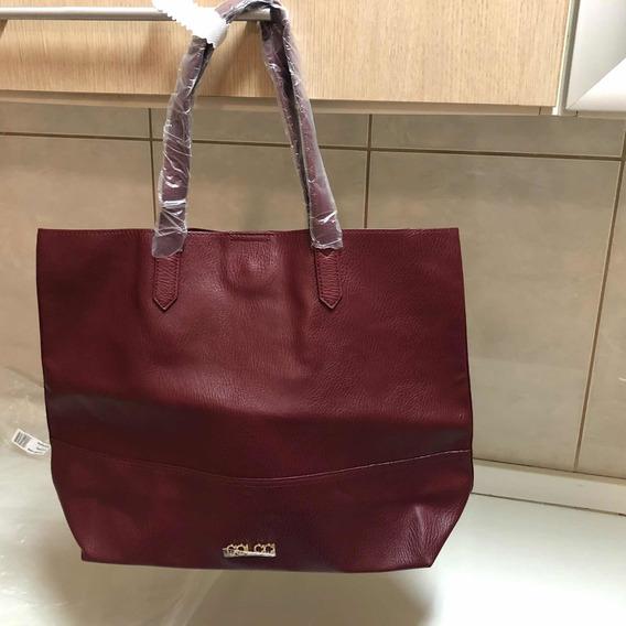 Bolsa Shopping Bag Colcci Vinho