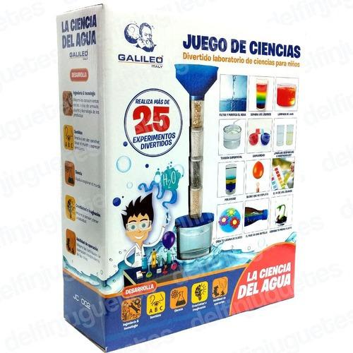 Juego De Ciencia La Ciencia Del Agua Galileo Jca-002 Full