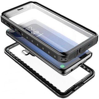 Capa Case Para Galaxy S10 S9 Prova De Água Choque Anti Shock