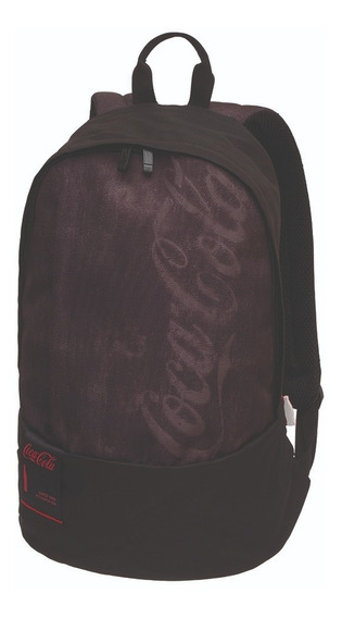 Kit Mochila Costas E Estojo Coca Cola Noise Preto - Pacific
