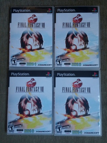 Final Fantasy 8 Legendado Para Playstation 1 - Patch