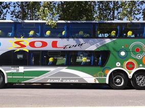 Omnibus Scania K380, 62 Butacas Semi Cama Impecable!