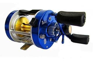 Reel Caster 400 Marine Sports-rotativo-aluminio Der/izq