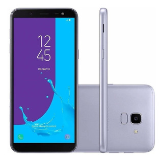 Smartphone Samsung Galaxy J6 J600gt 32gb 4g Prata - Vitrine