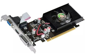 Placa De Vídeo Para Pc Geforce Gamer Gt 210 1gb Ddr2 64bits
