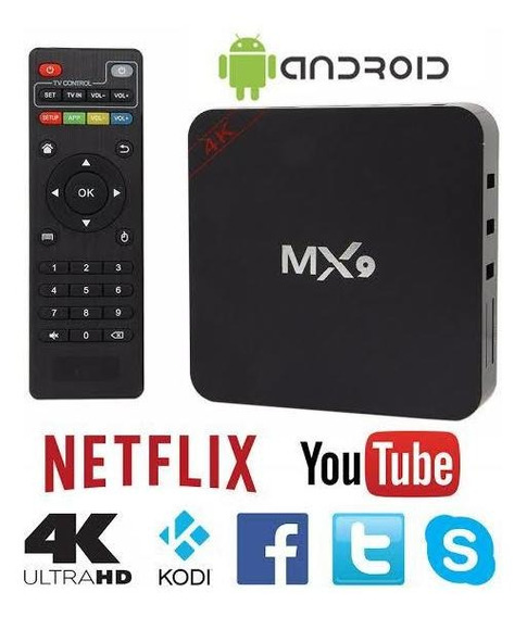 Set-up Box Tv Mx9 Android 8.1