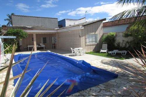 Ch03 Casa Lado Praia Com Piscina Churrasqueira 3 Quartos