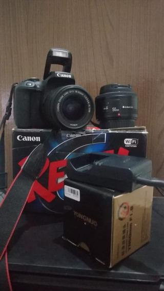 Kit Canon T6i + Lente 18-55mm Stm