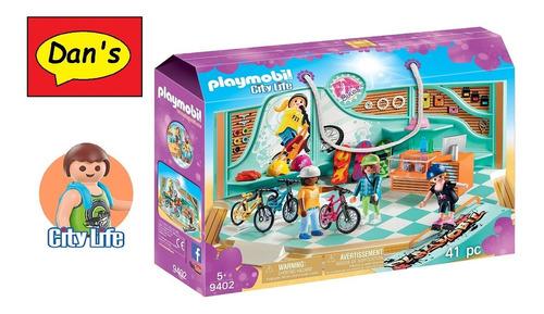 Playmobil 9402 - Tienda Skate Y Bicicletas